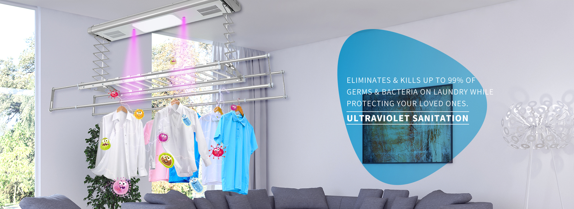 Mensch - ultraviolet sanitation smart laundry system