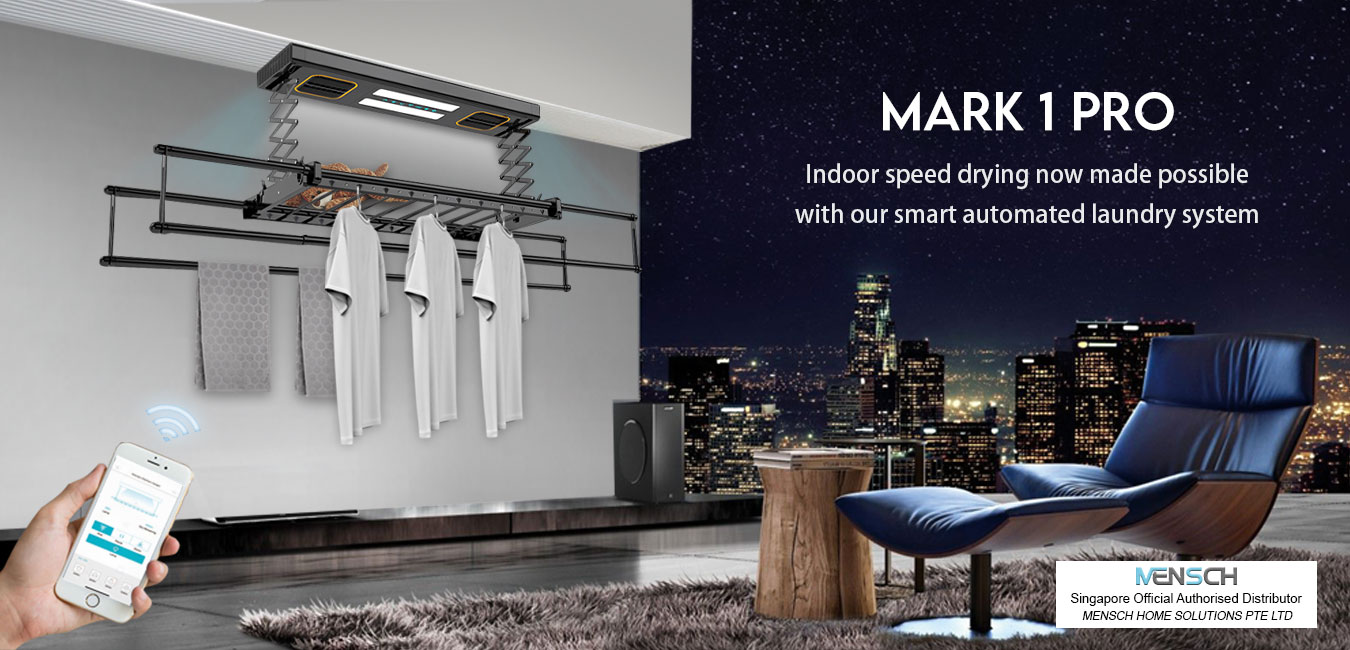 MENSCH SMART HOME LAUNDRY SYSTEM